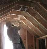 Spray Foam Attic Insulation Photos