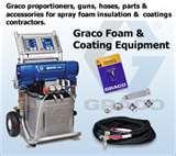 Graco Spray Foam Insulation Equipment Photos