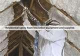 Pictures of Spray Foam Insulation Rigs For Sale