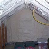 Attic Insulation Foam