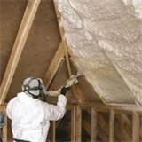 Spray Foam Insulation Attic