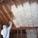 Spray Foam Insulation Attic Photos