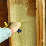 Spray Expanding Foam Insulation Images