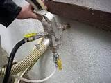 Images of Foam Cavity Wall Insulation Problems
