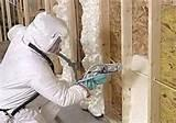 Spray Foam Wall Insulation Pictures