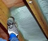 Images of Insulating Spray Foam