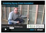 Photos of Foam Board Insulation Installation