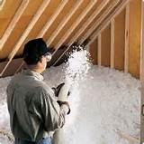 Pictures of Blow In Foam Insulation