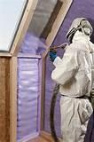 Spray Foam Insulation Can Images