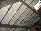 Foam Roof Insulation Photos