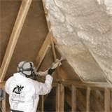 Pictures of Purple Spray Foam Insulation