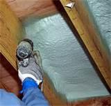 Images of Polyurethane Spray Foam Insulation